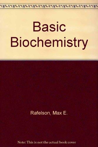 9780023975608: Basic Biochemistry