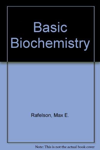 9780023976100: Basic Biochemistry