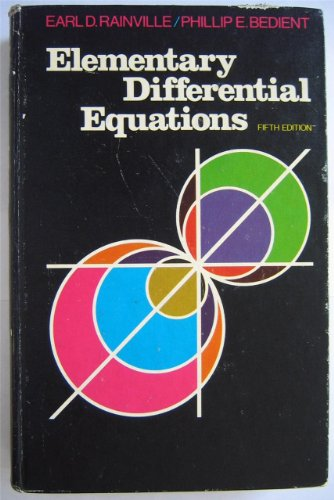 9780023977206: Elementary Differential Equations