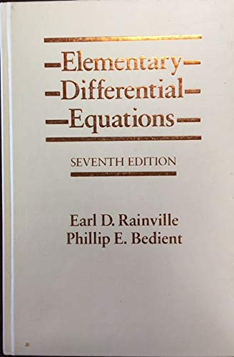 9780023978609: Elementary Differential Equations