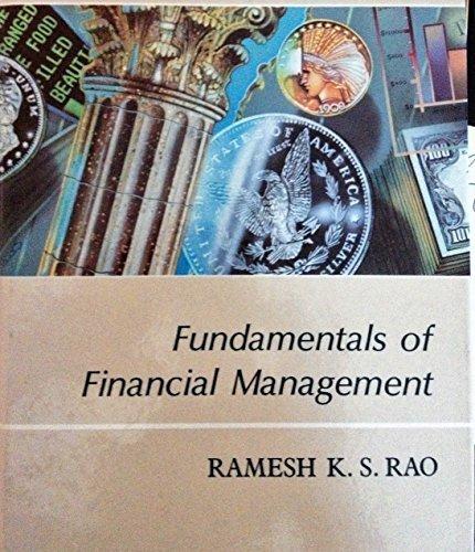 Fundamentals of Financial Management: Ramesh K. S.