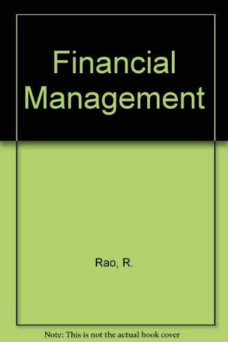 9780023982101: Financial Management