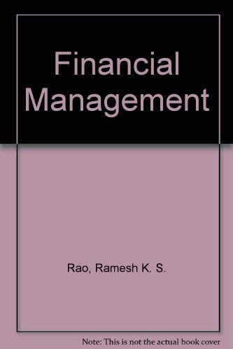 9780023982415: Financial Management: Concepts and Applications