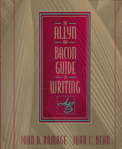 9780023982712: Allyn & Bacon Guide to Writing, The