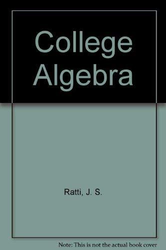 9780023986406: College Algebra