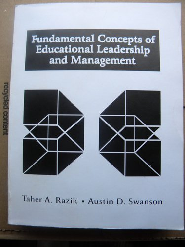 9780023987328: Fundamental Concepts of Educational Leadership and Management