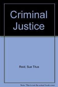 9780023991738: Criminal Justice