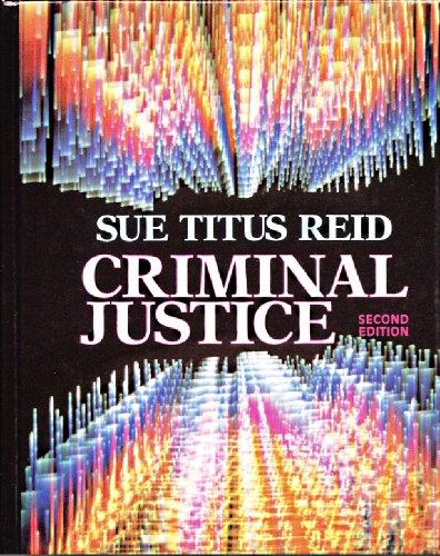9780023991936: Criminal justice
