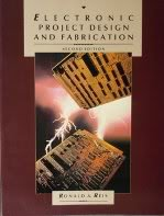 9780023992308: Electronic Project Design and Fabrication