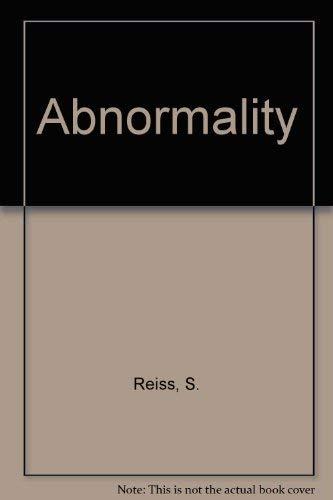 9780023993008: Abnormality