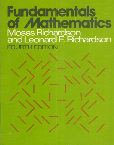 9780023996900: Fundamentals of Mathematics