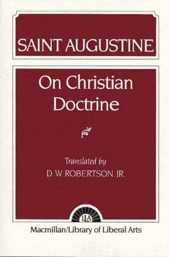 9780024021502: Saint Augustine: On Christian Doctrine