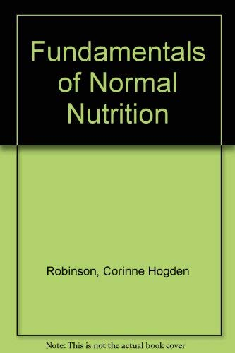 fundamentals of nutrition