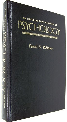 9780024024206: Intellectual History of Psychology, A