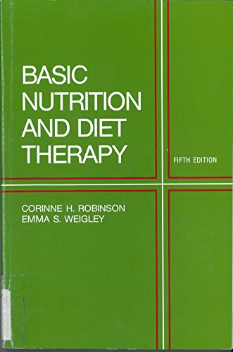 9780024025005: Basic nutrition and diet therapy