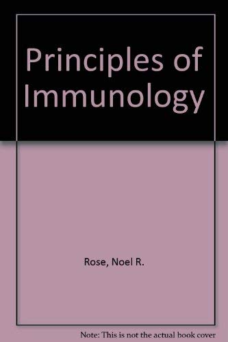 9780024035905: Principles of Immunology