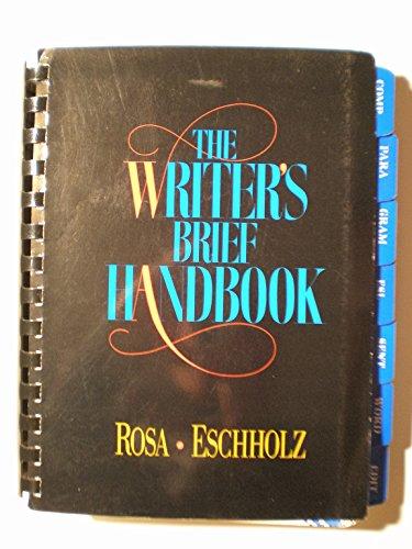 9780024035912: The Writer's Brief Handbook