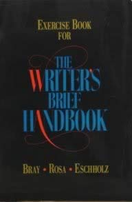 9780024035936: Exercise Book for the Writer's Brief Handbook