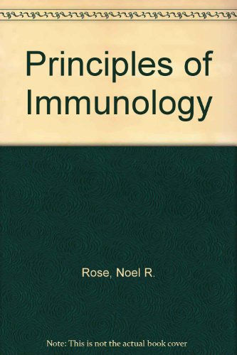 9780024036001: Principles of Immunology