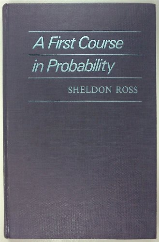 9780024038807: First Course in Probability