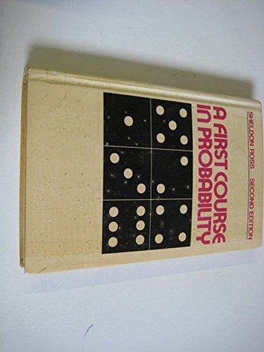 9780024039101: A First Course in Probability