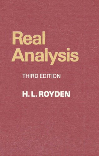 9780024041517: Real Analysis, 3rd Edition