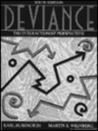 9780024044129: Deviance: The Interactionist Perspective