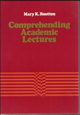 9780024044303: Comprehending Academic Lectures