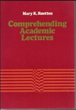 9780024044303: Comprehending Academic Lectures