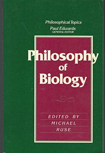 9780024044921: Philosophy of Biology