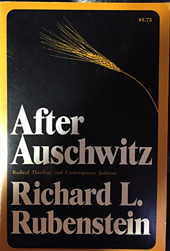 9780024045300: After Auschwitz: Radical Theology and Contemporary Judaism