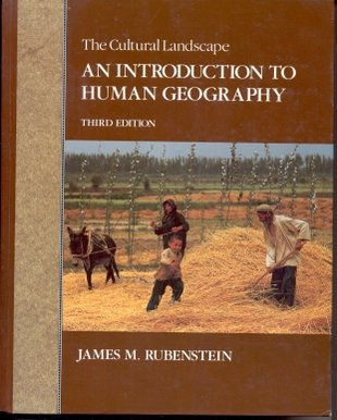 9780024045355: The cultural landscape: An introduction to human geography