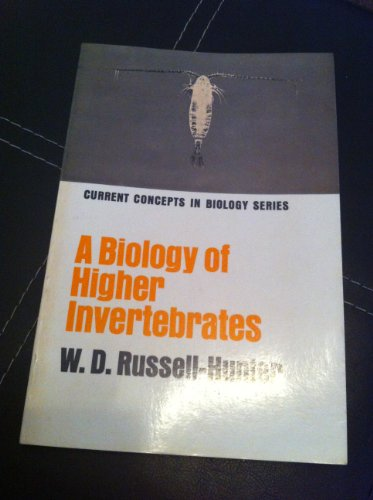 9780024046000: Biology of Higher Invertebrates (Concepts in Current Biology)