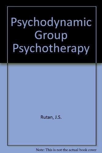 9780024049308: Psychodynamic Group Psychotherapy