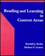 9780024049452: Reading and Learning in Content Areas