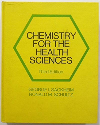 9780024050403: Chemistry for the health sciences