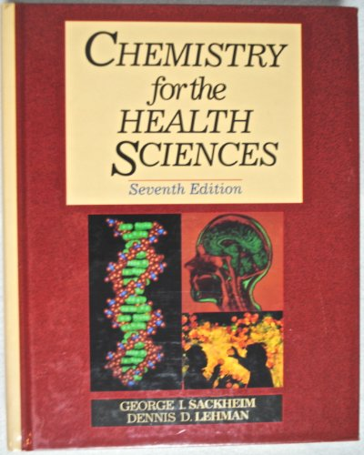 9780024051615: Chemistry for the Health Sciences