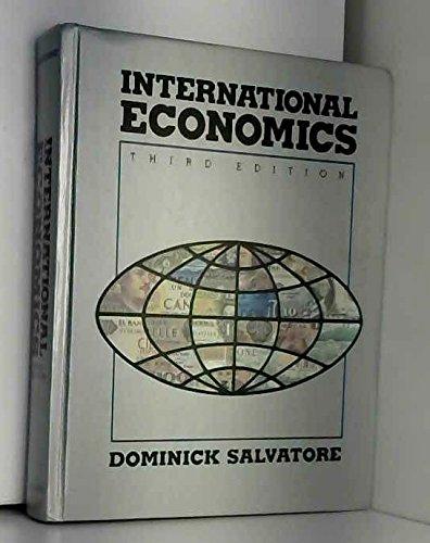 9780024053114: International Economics