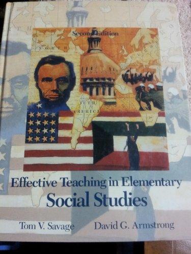 9780024064110: Effective Teaching in Elementary Social Studies