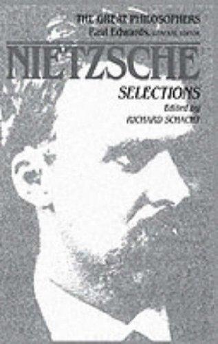 9780024066817: Nietzsche (Great Philosophers)