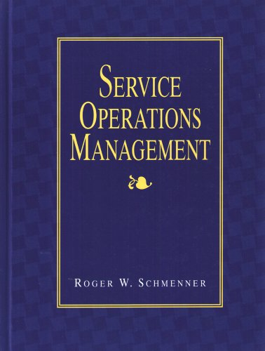 9780024068118: Service Operations Management
