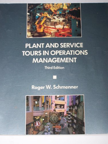 9780024068965: Plant and Service Tours in Operations Management