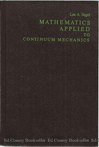 9780024087003: Mathematics Applied to Continuum Mechanics (L'Amateur)