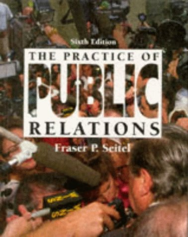 9780024088406: The Practice of Public Relations