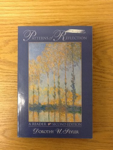 9780024093400: Patterns of Reflection: A Reader