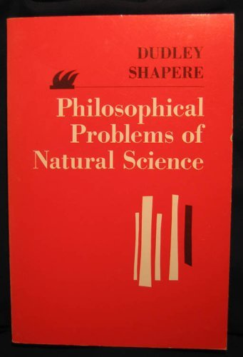 9780024094803: Philosophical Problems of Natural Science