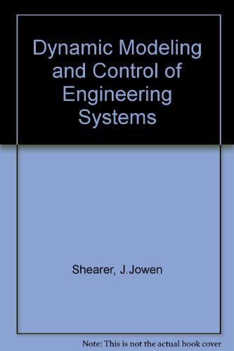 9780024097903: Dynamic Modeling and Control of Engineering Systems/Book and Disc