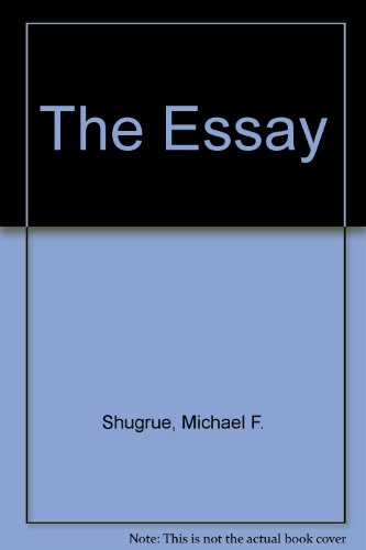 9780024103802: The Essay