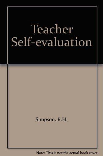 9780024106209: Teacher Self-evaluation