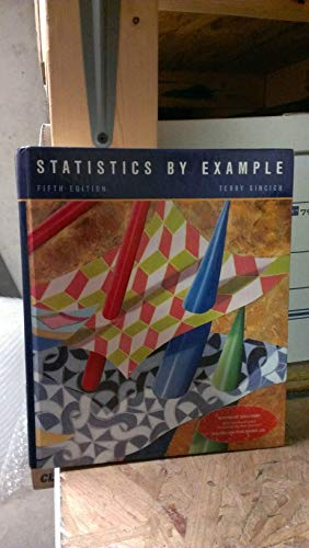 9780024109811: Statistics by Example